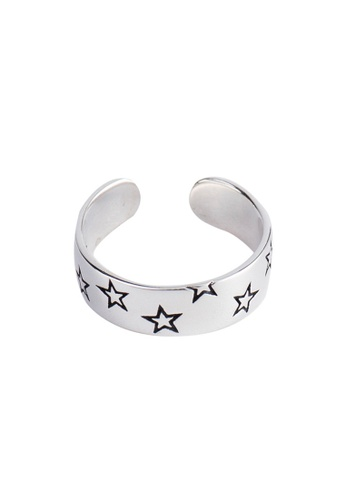A-Excellence silver Premium S925 Sliver Star Ring 1DBC2ACA7BB4AFGS_1