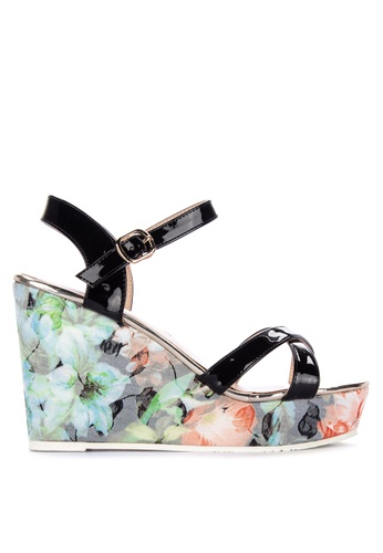 85b6802334a Shop Gibi Ankle Strap Wedge Sandals Online on ZALORA Philippines