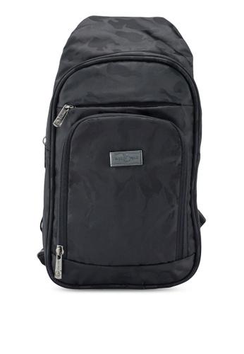 Swiss Polo black Chest Bag 14E39ACB9B69ADGS_1