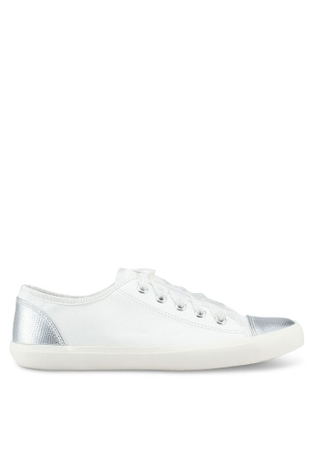 Miss KG white White Low Top Trainers 1E976SH072B1FBGS_1