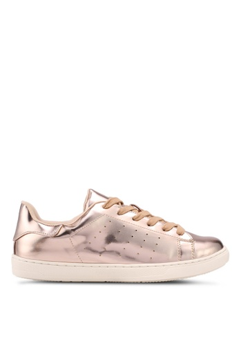 Something Borrowed gold Metallic Sneakers 83CB5SH64CBA62GS_1