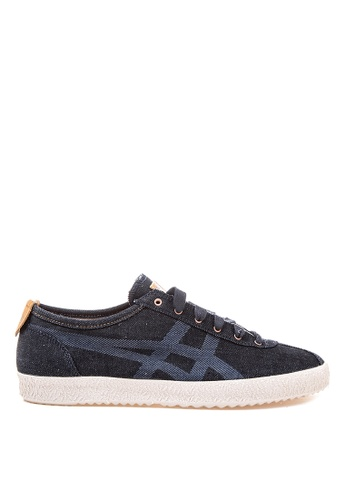 Onitsuka Tiger black Mexico Delegation Lace-up Sneakers ON625SH28DBFPH_1