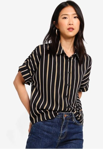 ZALORA BASICS multi Basic Short Sleeves Shirt A6FA3AA5477A06GS_1