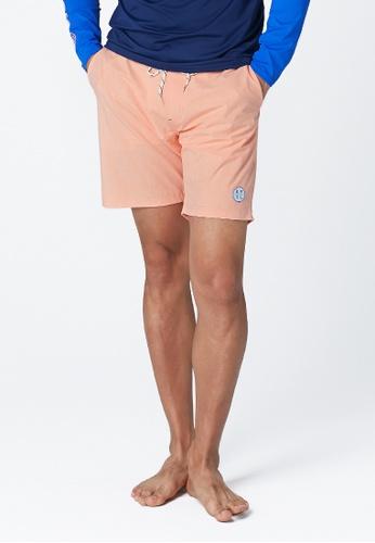 BARREL pink Men Kona Boardshorts V2 Heather Peach 7B65AAAC3A29BEGS_1