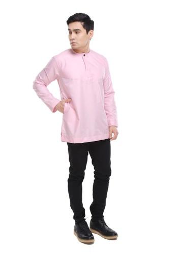 Amar Amran pink Kurta Al Amin 2.0 1BBB2AA0AA5484GS_1