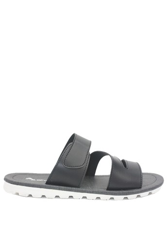Dr. Kevin black Dr. Kevin Men Sandals 97206 - Black 07803SHB2127EAGS_1
