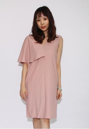 Seoul in Love Beona Dress in Pink E8F60AA3B2F405GS_1