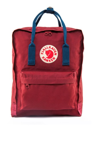 Fjallraven Kanken red and blue Ox Red-Royal Blue Kanken Classic Backpack FJ859AC15FPGSG_1