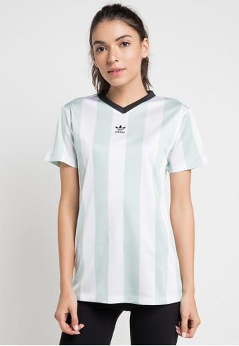 adidas white and multi adidas originals t shirt 6298FAA6A91AC0GS 1 2846eb5e55