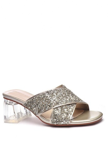 Twenty Eight Shoes Crystal Heeled Sandals 1801-3 11B47SH84996BCGS_1
