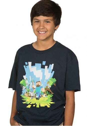 Jinx Jinx Minecraft Adventure Youth T-Shirt 1E2C9KA3A3D944GS_1