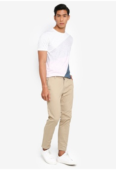1a50d454fdf4 Burton Menswear London Stone Blake Slim Fit Stretch Chinos S$ 49.90.  Available in several sizes
