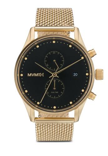 MVMT gold MVMT Voyager Watch - Eclipse MV187AC0SZRFMY_1