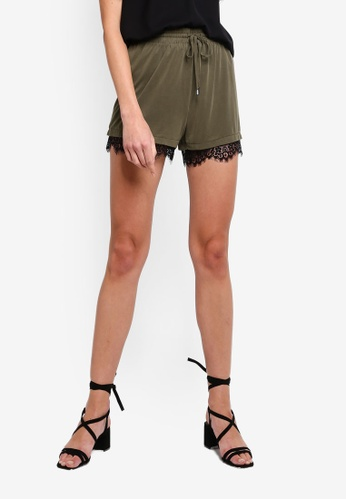 418387cf0151a6 Buy Vero Moda Kelly Lace Shorts Online on ZALORA Singapore