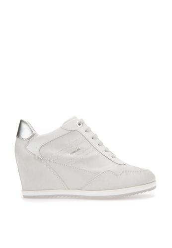 Geox white D ILLUSION Sneaker 3ECE5SH7ADE562GS_1