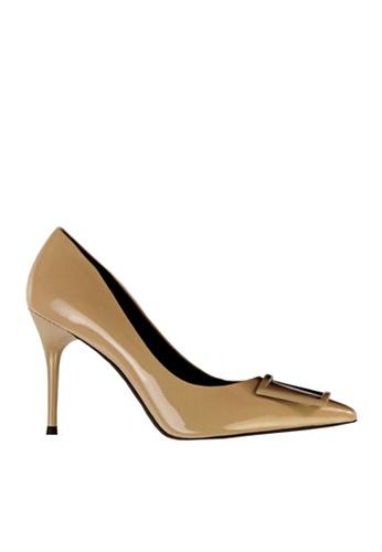 Twenty Eight Shoes Square Buckled Heels VL17851 B34CCSH6B184DDGS_1