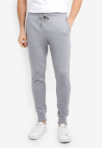 Calvin Klein grey Jogger Pants With Drawstring - Calvin Klein Performance 65433AABE77D73GS_1