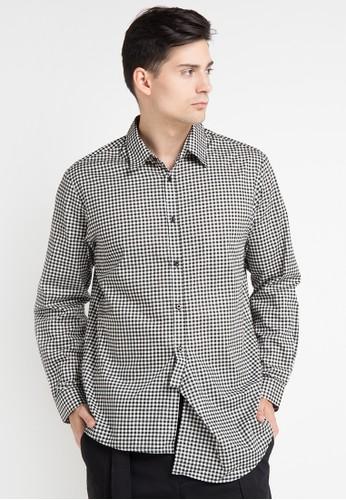 (X) S.M.L black and multi Naten Shirt XS330AA0WE94ID_1