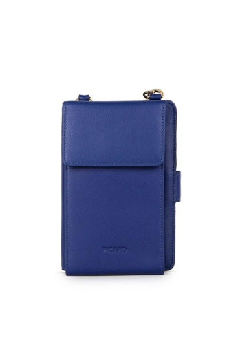 Picard blue Picard Bingo Mobile Pouch in Blue 28A45AC6703E5EGS_1