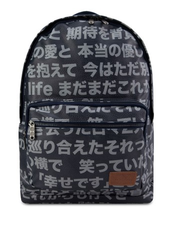 日本漢zalora taiwan 時尚購物網字後背包, 包, 後揹包
