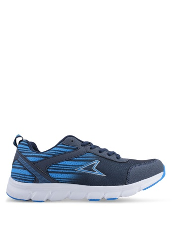 Power multi and navy Running Shoes D1265SHC805C6BGS_1