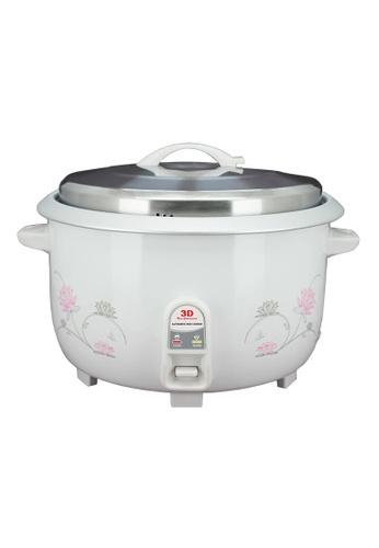 3D white Automatic Rice Cooker 8.5L E994DHL5A88581GS_1