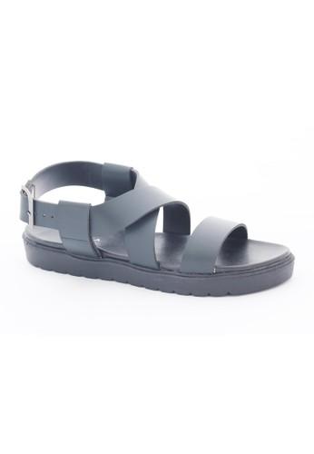 MINKA FREJA Black Block Sandal