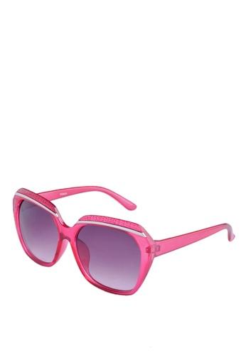 Greatvalueplus pink Newyork Army Women's KD9570 Frame Wayfarer Sunglasses with  Resin lens. GR688GL43IAEPH_1