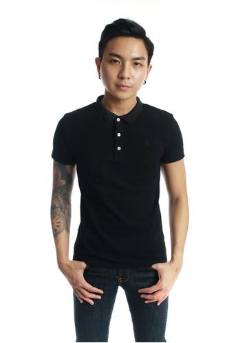 Praise black Polo Shirt PR067AA77KJUSG_1