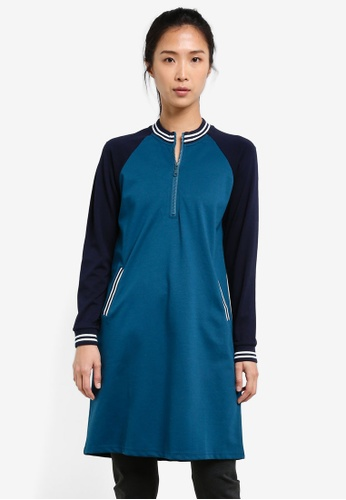 AVIVA blue Long Sleeve Top AV679AA0S9GZMY_1