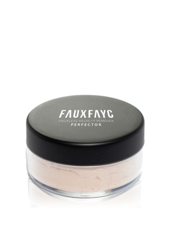 Faux Fayc white Fauxless Velvety Powder Perfector - Translucent FA334BE37DFUSG_1