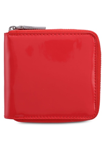 Mango orange Patent Wallet 10E04AC360A195GS_1