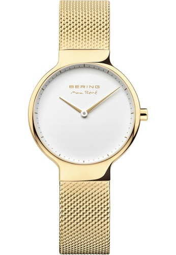 Bering gold Bering Max René White 31 mm Women's Watch (15531-334) 4E765AC5A51287GS_1