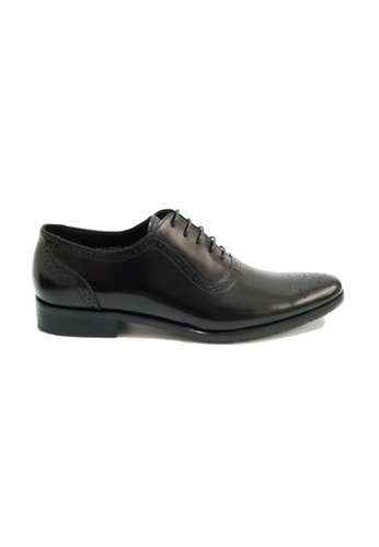 Kings Collection black Barris Oxford Shoes 67F87SH709AF6BGS_1