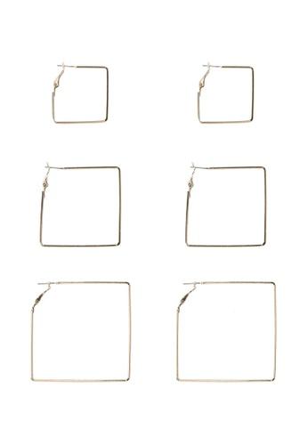 ALDO gold Ciwia Pierced Earrings F885BAC1EA8E28GS_1