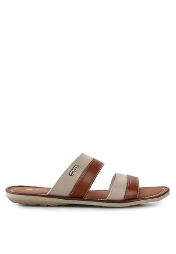 Pakalolo Boots brown Thong Sandal PA409SH39XVSID_1