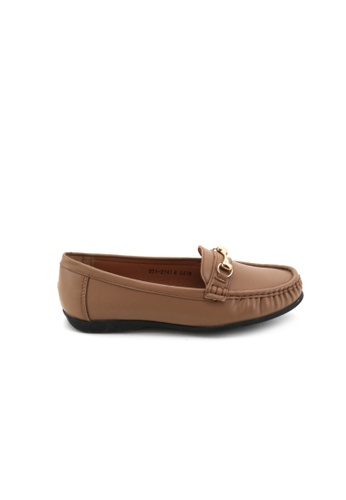 Bata Bata Women Loafers  - Almond 5513141 9C273SH88B1412GS_1