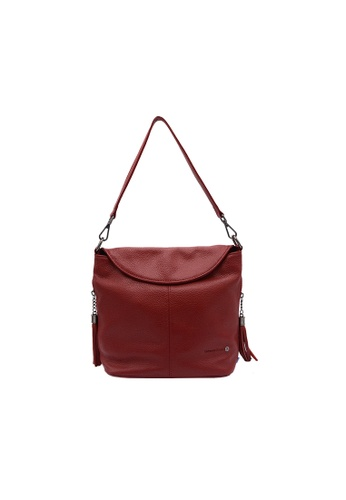 EXTREME red Extreme Genuine Leather Sling Bag (iPad Mini) B2314ACAE878AEGS_1