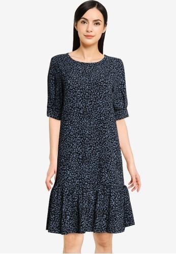 JACQUELINE DE YONG black Gitte Svan 2/4 Dress 0703DAA4E83E88GS_1