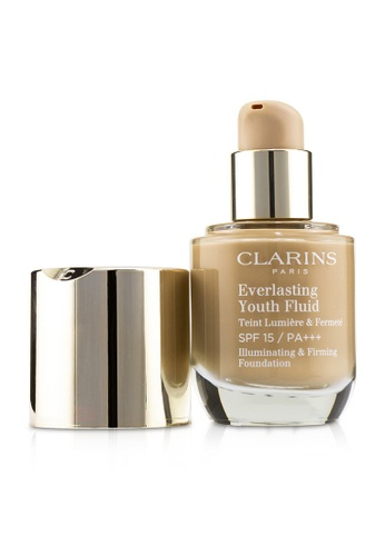 CLARINS CLARINS - Everlasting Youth Fluid Illuminating & Firming Foundation SPF 15 - # 112 Amber 30ml/1oz 4FBD6BE7B36A23GS_1