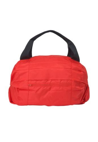 Shupatto red Shupatto Foldable Travel Duffel Bag - Red 35B61AC87B573CGS_1
