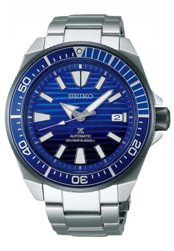 Seiko blue and silver Seiko Prospex Save The Ocean SRPC93K1 Silver Blue C5AF5AC27AB67CGS_1