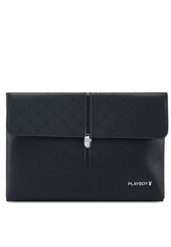 Playboy black Playboy Clutch Bag 22826AC961A208GS_1