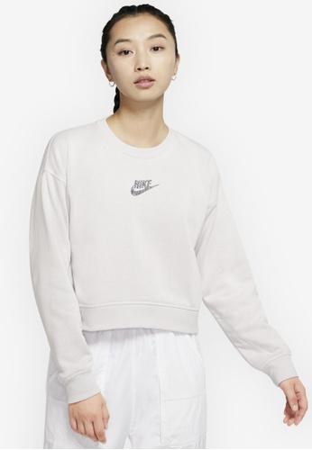 Nike grey Women's Sportswear Crew Sweatshirt EEDDDAACC761B8GS_1