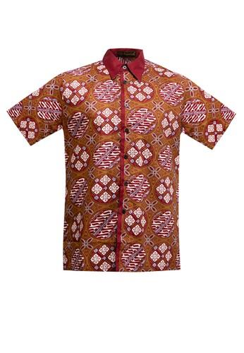ARJUNA WEDA green Hem Batik Jlamprang Isi E67DEAA645C11DGS_1