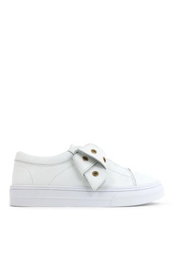 Carlo Rino 白色 White Ringlets Charm Sneakers 88BBDSHDA7877EGS_1