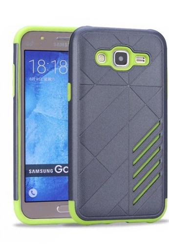 Nadjames Grey Ultra Thin Shockproof Protective Hybrid TPU Cover Case For Samsung Galaxy J2 Prime NA782AC51SBKPH 1