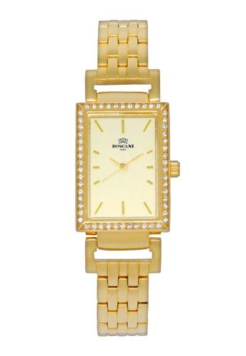 Roscani gold Roscani Francesca B59 (Aluminium Brushed Dial) Gold Bracelet Women Watch 93CABACDFB2D49GS_1