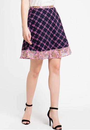 Bateeq pink Regular Cotton Cap Skirt BA656AA58ZTXID_1