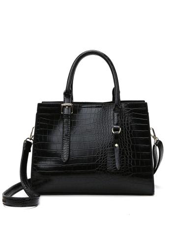 Twenty Eight Shoes Stylish Crocodile Texture Leather Tote Bag DP8090 ABF58AC86705EFGS_1